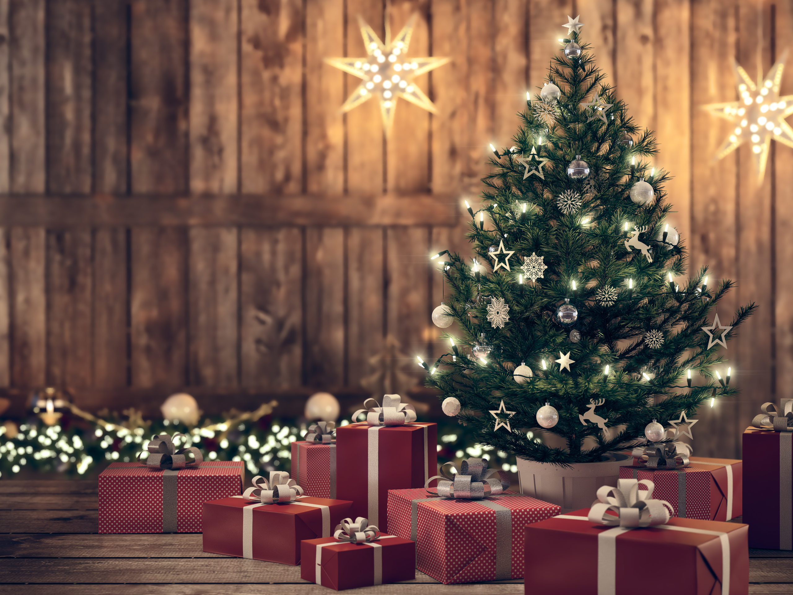 FIXING COMMON PROBLEMS WITH ARTIFICIALPRE LIT CHRISTMAS TREES